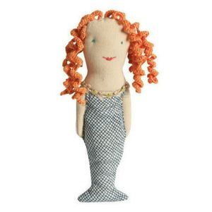 Maileg Embroidered Mermaid Rattle