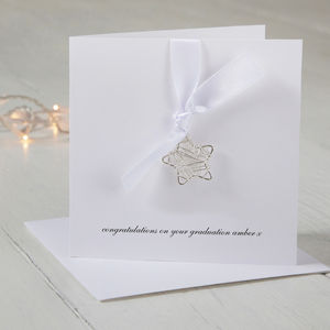 Personalised Wire Star Graduation Card - shop by category