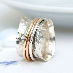 Whirl Spinning Ring - women's jewellery