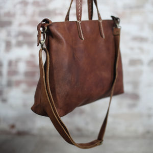 Nkuku Leather Tote - cross body bags