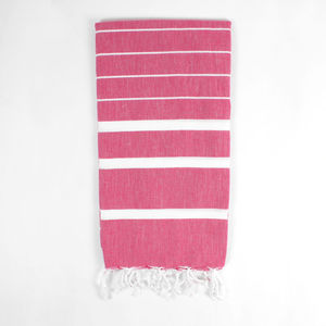 Ibiza Summer Handwoven Hammam Towel - bathroom
