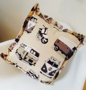 Personalised Vw Camper Cushion