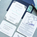 Deco Wedding Stationery