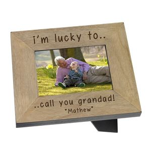 Personalised Photo Frame For Grandad