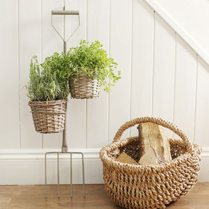 Large Garden Fork Planter - gifts for her