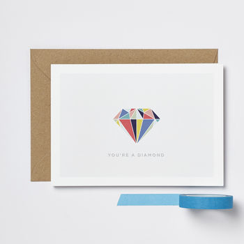Mother's Day You're A Diamond Card