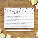 Marriage Advice Cards Pack Of Eight Cards