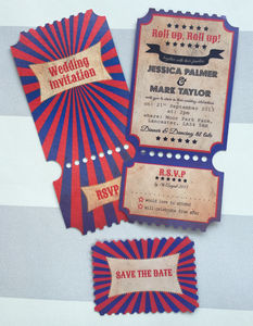 Cirque Wedding Stationery