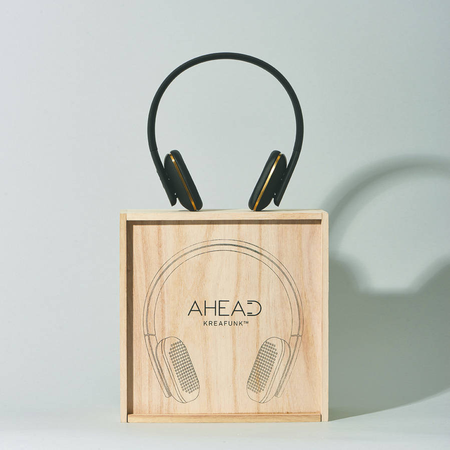 kreafunk a head headphones black by spotted. Black Bedroom Furniture Sets. Home Design Ideas