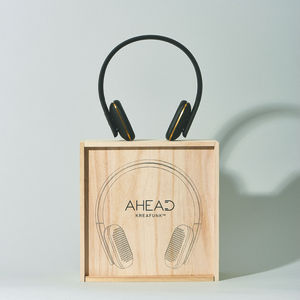 Kreafunk A Head Headphones Black