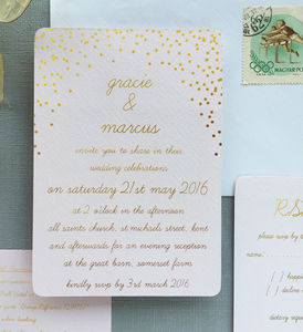Èclat Wedding Stationery - save the date cards
