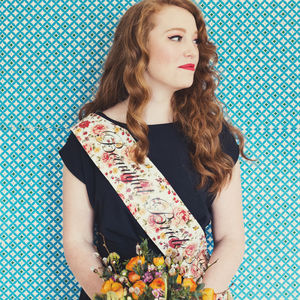 Vintage Style Personalised Hen Party Sash - personalised
