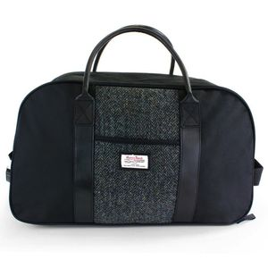Harris Tweed Travel Bag - holdalls & weekend bags