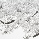 Westminster Hand Drawn London Map Print
