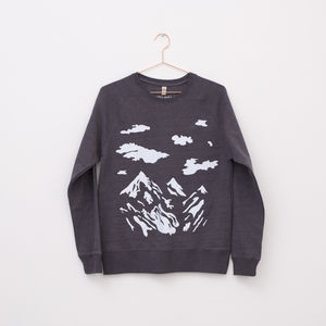 Mountain Sweatshirt - on trend: mountains & contours