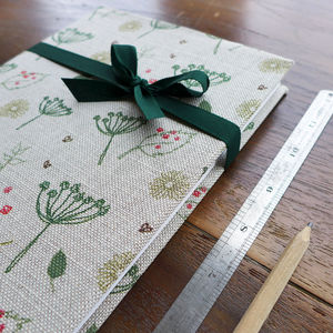 Countryside Fabric Notebook