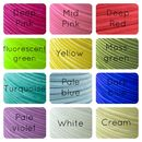 Velvet ribbon colours