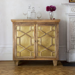 Amber Art Deco Sideboard