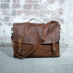 Nkuku Leather Satchel