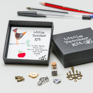 Personalised 'Little Teacher Kit' - gifts for teachers