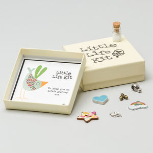 Personalised 'Little Life Kit' - card alternatives
