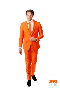 The Orange Suit Fancy Dress Costume