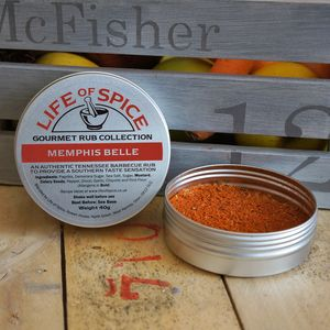 Memphis Belle Barbecue Rub