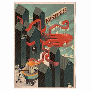 Hastings Art Print - nature & landscape