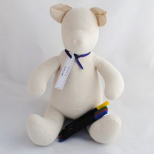 Keepsake 'Write On Me' Signature Bear - soft toys & dolls