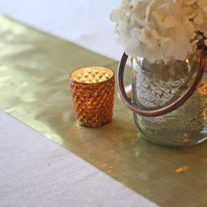 Gold Table Runner 5m