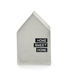 Single Concrete House - bookends