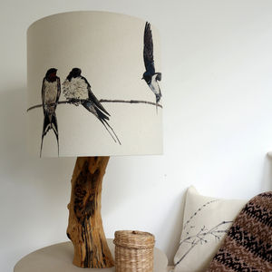 Swallow Lampshade - dining room