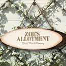 Personalised 'My Allotment' Wooden Sign