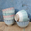 Stripe Ceramic Bowl
