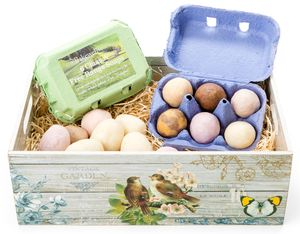 Luxury Handmade Novelty Egg Soap Gift Box