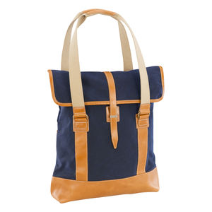 Waxed Canvas Tote Bag - men's accessories