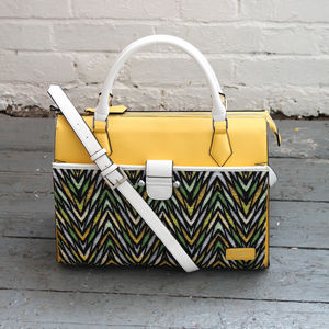 Viviana Tribal Print Tote Bag 25% Off