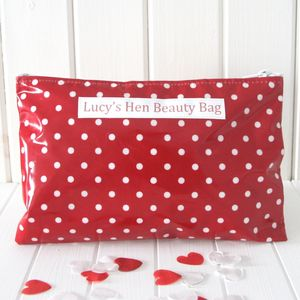 Hen Weekend Personalised Cosmetic Bag - hen party gifts & styling