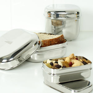 Stainless Steel Containers - kitchen accessories