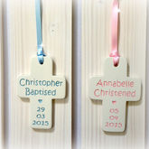 Christening Gift Ceramic Cross - cards