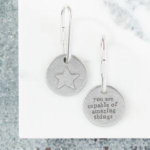 Star For Success Keyring