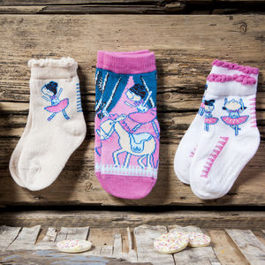 Ballerina Children's Socks - summer sale