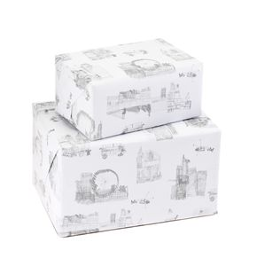 City Sketch Gift Wrap