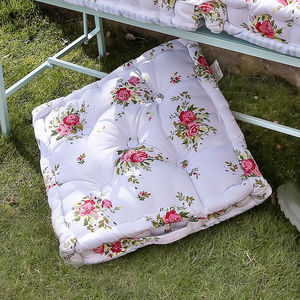 Summer Floral Floor Cushion - furniture