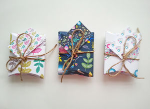 Floral Diy Pillow Gift Boxes Large And Small