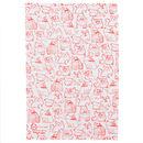 Cats Silkscreen Printed Tea Towel