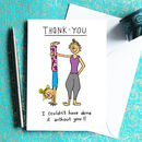 Thank You Card For Yogis And Yoga Teachers