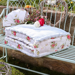 Floral Jardin Bench Mattress