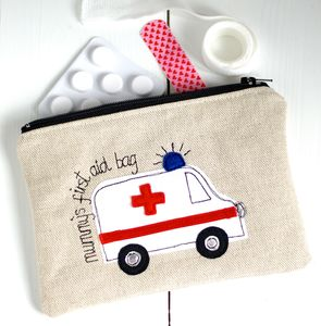 Personalised First Aid Pouch - make-up & wash bags