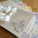 Sophie Wedding Stationery Pastel Colour's Collection